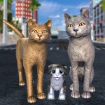 [APK] Cat Family Simulator: Stray Cute Kitty Game 10.1 (MOD Unlimited Money)