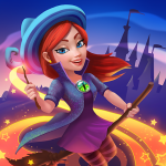 Charms of the Witch: Magic Mystery Match 3 Games  2.36.1 (MOD Unlimited Money)