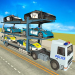 [APK] City Police Car Transporter Truck: Trailer Driving 3.2 (MOD Unlimited Money)