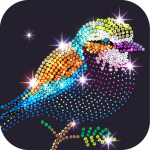 Diamond Coloring Sequins Art & Paint by Numbers  1.5.3 (MOD Unlimited Money)