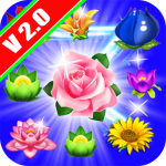 [APK] Flowers Sweet Connect – Match 3 Game 1.4.72 (MOD Unlimited Money)