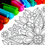 Mandala Coloring Pages  15.9.6 (MOD Unlimited Money)