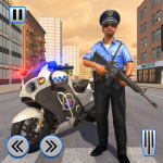 Police Moto Bike Chase Crime Shooting Games  2.0.16 (MOD Unlimited Money)