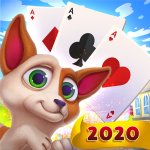 Solitaire Pets Adventure Free Solitaire Fun Game  2.33.363 (MOD Unlimited Money)