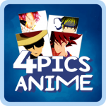 [APK] Title: 4 Pics 1 Word Anime Quiz – Guess the Anime 2.6  (MOD Unlimited Money)