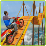 Bike Tricks Trail Stunt Master -Impossible Tracks  11 (MOD Unlimited Money)
