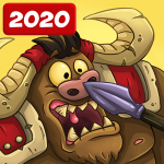 Booblyc TD survival – Realm Tower Defense Strategy  1.0.633 (MOD Unlimited Money)