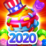 Candy Bomb Fever 2020 Match 3 Puzzle Free Game  1.6.6 (MOD Unlimited Money)