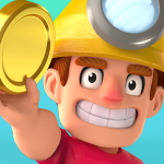 Digger To Riches Idle mining game  1.9.2 (MOD Unlimited Money)