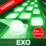 [APK] EXO Hop: Obsession KPOP Music Rush Dancing Tiles! 5.0.0.6 (MOD Unlimited Money)