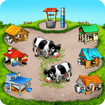 Farm Frenzy Free Time management games offline 🌻  1.3.8 (MOD Unlimited Money)