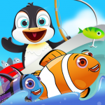 [APK] Fish Games For Kids | Trawling Penguin Games 2.3.3 (MOD Unlimited Money)