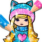 [APK] Girls Coloring Book for Kids Glitter 1.1.6.1 (MOD Unlimited Money)