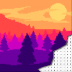 [APK] Landscape Coloring By Number – Pixel Art 5.0 (MOD Unlimited Money)
