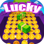 [APK] Lucky Pusher – Win Big Rewards 1.8.5 (MOD Unlimited Money)