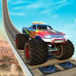 Monster Truck Mega Ramp Stunts Extreme Stunt Games  1.42 (MOD Unlimited Money)