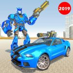 [APK] Police Robot Car Rampage: New robot shooting Games 1.2 (MOD Unlimited Money)