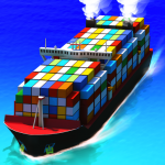 Sea port: Ship Simulator & Strategy Tycoon Game  1.0.169 (MOD Unlimited Money)