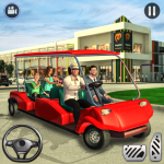 [APK] Shopping Mall Radio Taxi: Car Driving Taxi Games 3.4  (MOD Unlimited Money)