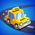 Taxi Run Crazy Driver  1.34 (MOD Unlimited Money)
