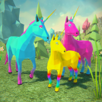 [APK] 🦄Unicorn Family Simulator 2-Magic Horse Adventure 1.36 (MOD Unlimited Money)