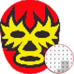 [APK] Wrestling Mask Color By Number – Pixel Art 4.0 (MOD Unlimited Money)