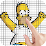[APK] Yellow Family Color by Number – Pixel Art Game 1.4 (MOD Unlimited Money)