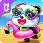 Baby Panda's Summer: Vacation  8.52.00.01 (MOD Unlimited Money)