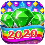 Bling Crush Free Match 3 Jewel Blast Puzzle Game  1.4.8 (MOD Unlimited Money)