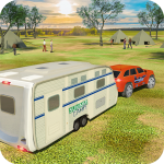 [APK] Camper Van Truck Simulator: Cruiser Car Trailer 3D 1.13 (MOD Unlimited Money)