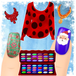 [APK] Dress up and Nail Games – Christmas Style 1.1.2 (MOD Unlimited Money)