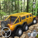 [APK] Extreme Offroad Mud Truck Simulator 6×6 Spin Tires 2.4 (MOD Unlimited Money)