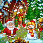 [APK] Farm Snow: Happy Christmas Story With Toys & Santa 1.74 (MOD Unlimited Money)