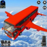 [APK] Flying Bus Driving simulator 2019: Free Bus Games 3.2  (MOD Unlimited Money)