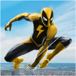 [APK] Flying Spider Rope Hero – Super Vice Town Crime 1.0.32 (MOD Unlimited Money)