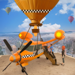 [APK] Flying Taxi Simulator: Air Balloon Taxi Driving 3D 1.0.4 (MOD Unlimited Money)