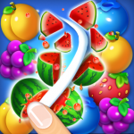 Fruits Crush Link Puzzle Game  1.0040 (MOD Unlimited Money)