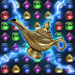 [APK] Jewels Magic Lamp : Match 3 Puzzle 1.1.4 (MOD Unlimited Money)