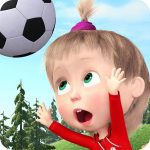 Masha and the Bear: Football Games for kids  1.3.8 (MOD Unlimited Money)