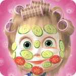 Masha and the Bear: Hair Salon and MakeUp Games  1.2.4 (MOD Unlimited Money)
