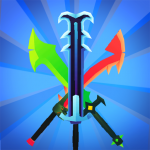 [APK] Merge Sword – Idle Blacksmith Master 1.3.5 (MOD Unlimited Money)
