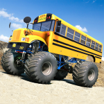 [APK] Monster Bus Offroad Racer 2020 Truck Stunts Derby 2.0 (MOD Unlimited Money)