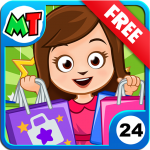 My Town: Shopping Mall – Shop & Dress Up Girl Game  1.12 (MOD Unlimited Money)