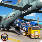 [APK] Police Car Transporter Plane: Car Driving Games 1.4.0 (MOD Unlimited Money)