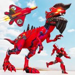 [APK] Raptor Robot Games: Drone Robot Grand Hero 1.0.14 (MOD Unlimited Money)