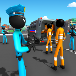 [APK] US Police Stickman Criminal Plane Transporter Game 4.0 (MOD Unlimited Money)