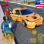 [APK] Yellow Cab American Taxi Driver 3D: New Taxi Games 1.8 (MOD Unlimited Money)