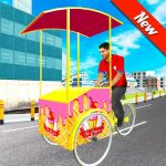 [APK] City Ice Cream Man Free Delivery Simulator Game 3D 1.0 (MOD Unlimited Money)
