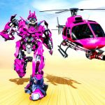 [APK] Helicopter Robot Transformation- Robot Games 3.2 (MOD Unlimited Money)