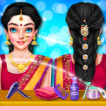 [APK] Indian Wedding Hair Do Designs: Girls Hair Salon 1.1.0 (MOD Unlimited Money)